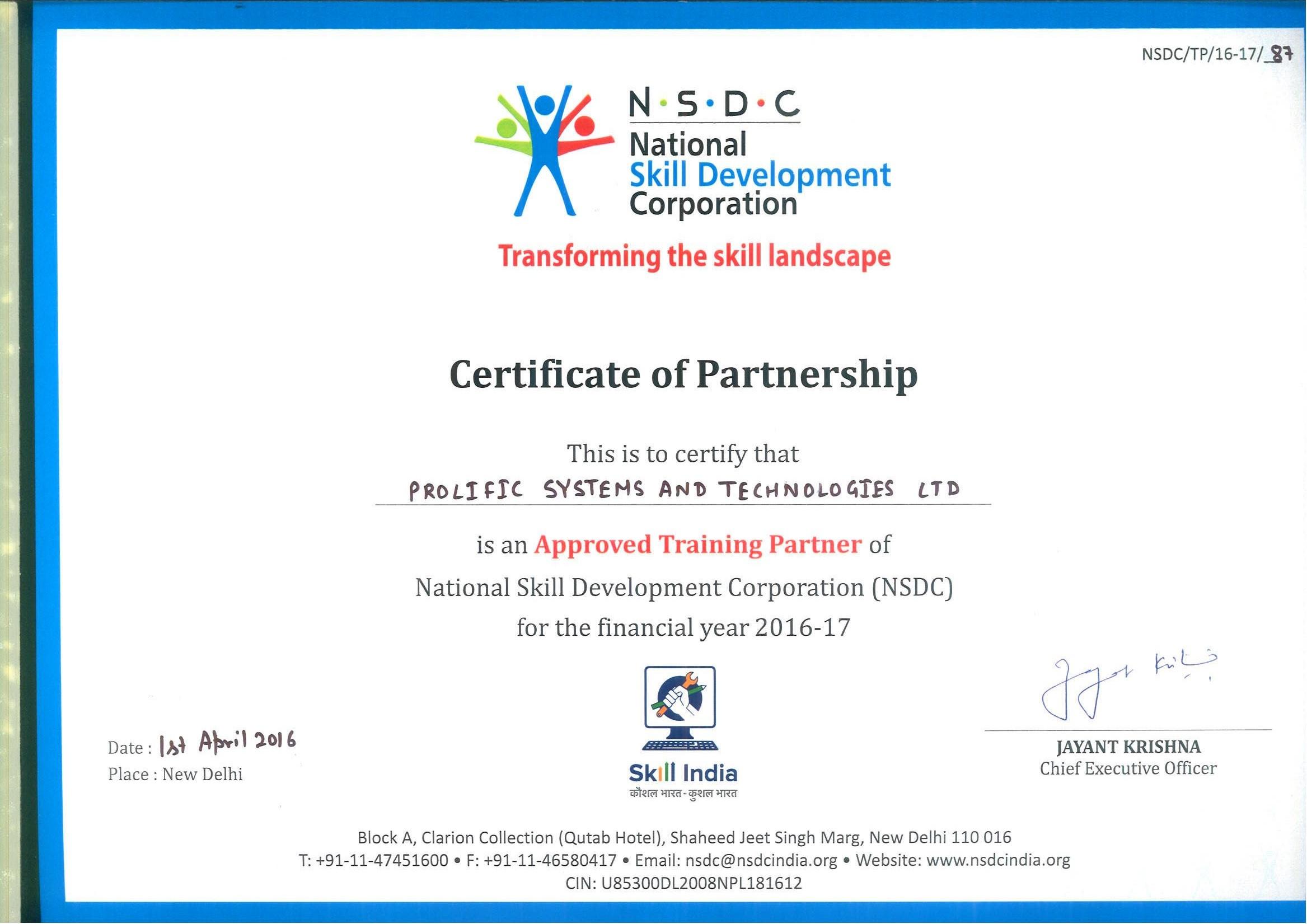 Civil Partnership Certificate Partnership Certificate